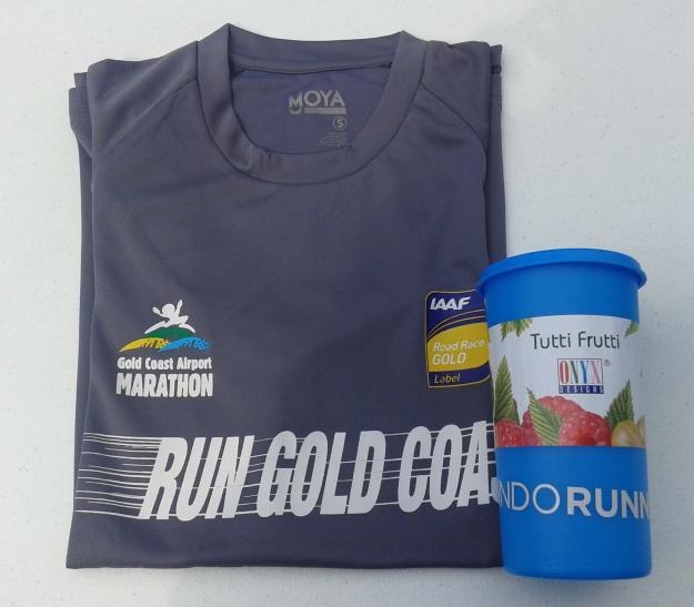 Hadiah door prize di acara perayaan ultah Indo Runners ke-6